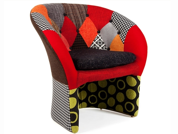 Bay Lounge Sessel - Patchwork